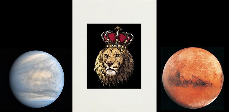Venus Lion Mars July 12